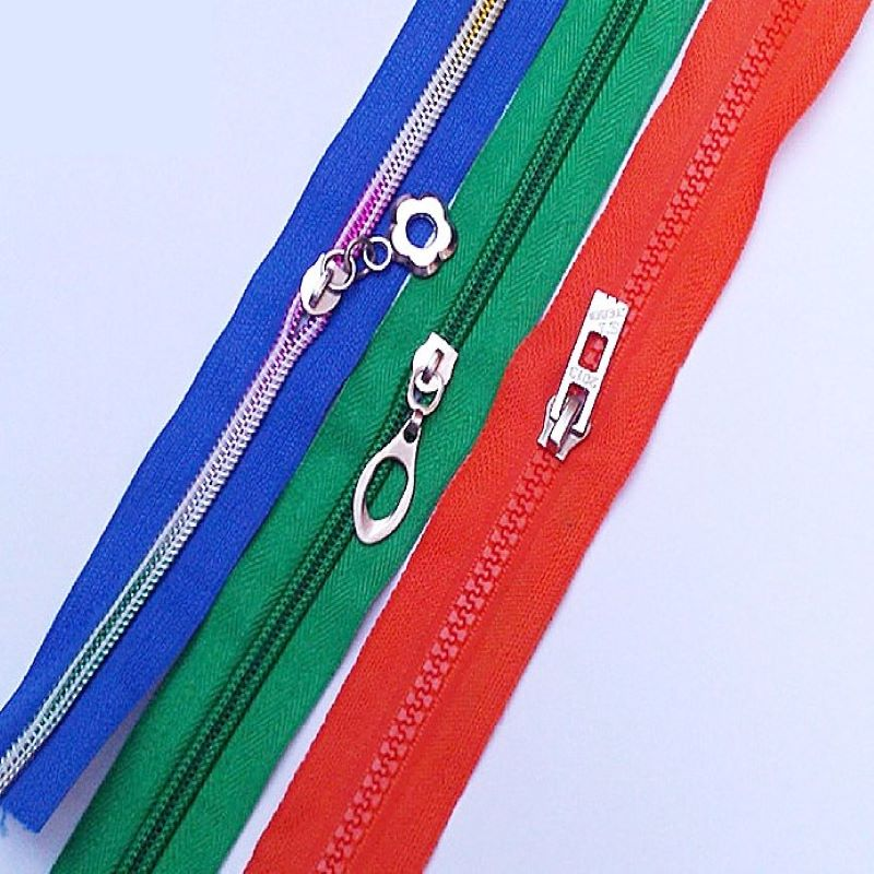 12Inch chromatic long zippers