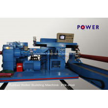 Steel Textile Dyeing Rubber Roller Winding Machine