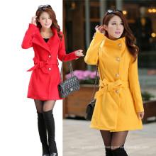 Новый стиль тонкий тонкий шерстяные Женская куртка ветровка (MU6641-1)