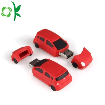 Silikon 3D Flash Drives Meliputi Cover Micro USB