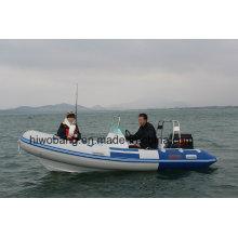 Rib420 Fiberglass Motor Yacht