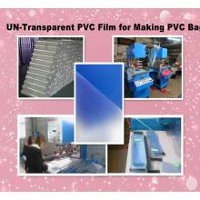 Heißesten UN-transparente PVC-Folie zur Herstellung von PVC-Beutel
