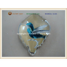 Glass Fridge Magnet for Promotion or Souvenir