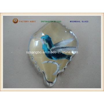 Glass Fridge Magnet for Promotion or Souvenir