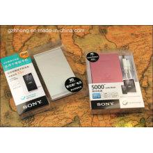 Настраиваемая упаковка пластиковой упаковки банка Power Box (печатная коробка PP)
