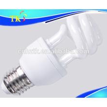 Half spiral CFL lamps