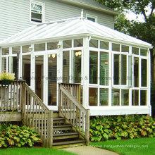 Aluminum Sun Room with Folding Conservatory Doors (FT-S)