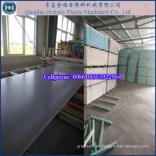 Plantilla de construcción de PVC Máquina para fabricar tableros de espuma