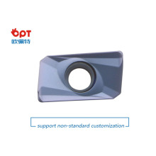 Superhartmetall-Fräswendeplatten für gehärteten Stahl