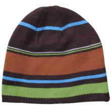 Senhora moda acrílico de malha de inverno chapéu gorro de esqui quente (yky3119)