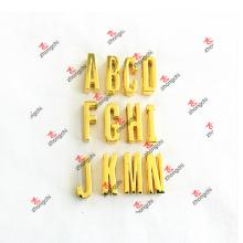 Promoção 30 milímetros DIY Gold Slide carta encantos para pulseira (dg51031)
