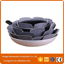 100%Polyester Nonwoven Fabric Heat Insulation Pan Protectors