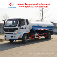 Foton Aumark 10000L suministro de agua cisterna 10ton agua camión precio de venta