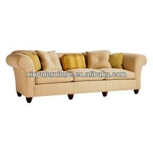 Star hotel bedroom fabric sofa reception sofa XY0958