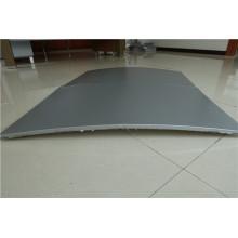 Paneles de panal de aluminio en forma de arco