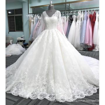 Vestido de novia de marfil vestido de novia WT408