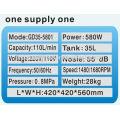 compresseur d'air dentaire 35L 580W (GD35-5801)