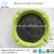 Arena de alúmina fundida marrón de diverso tamaño para abrasivo / pulido / refractario