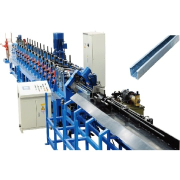 Satu Ukuran CZ Purlin Roll Forming Machine