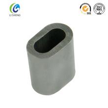 Ferrule en fil d'aluminium ovale