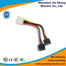 Fábrica de Shenzhen automotivo do conjunto de cabo automotivo feito sob encomenda do chicote de fios do fio