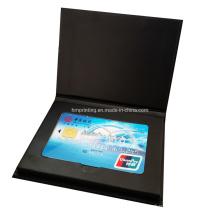 Luxury Bank Card Box Gift Box VIP Card Packaging Credit Card Box with Custom Logo