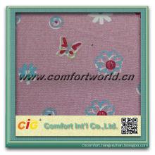 High quality new design pretty woven cotton plain printed canvas fabric
