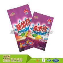 Guangzhou Personalizar Logotipo Impresso Grande / Pequeno Detergente De Lavanderia Detergente De Pó De Plástico Saco De Embalagem