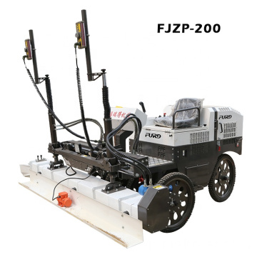 Self-propelled Six Wheel Drive Laser Screed For Quality Concrete Floor