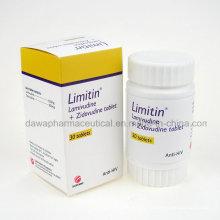 Limitin Lamivu Zidovu tableta Anti VIH