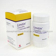 Limitin Lamivu Zidovu Tablet Anti-HIV