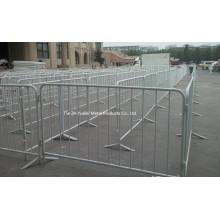 Ограждение оцинкованной толпы Контроль безопасности барьера / пешеходного движения и контрольного барьера толпы Сделано в Китае
