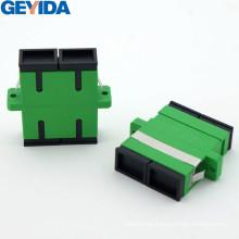 Adaptador SC / APC Sm Duplex de fibra óptica