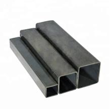 Hollow MS Square gi iron pipe flange square/ rectangular tube galvanized steel tube