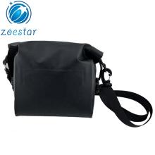 Tarpaulin Messenger Bag Mini Waterproof Bike Front Frame Bag Bicycle Handle bar Storage Saddle Bag Shoulder Pack for Biking