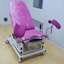 Hospital Gynecology Examination Room Bed