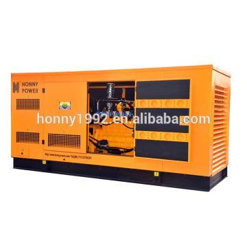 60Hz 200kW Googol Tipo Silencioso Generador De Gas Natural