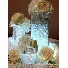 Cinta caliente del ajuste del acoplamiento del rhinestone de la venta para las decoraciones de la boda