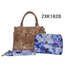 Sac fourre-tout Designer Fashion avec sacs en fleurs (ZXK1628)