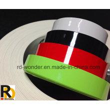 Bandas de borde de PVC brillante de color sólido