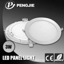 Panneau de lumière de plafond de 3W LED pour d'intérieur avec du CE