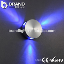 Hot sale super brightness aluminum pmma led wall lamp for indoor decoration, outdoor led wall light