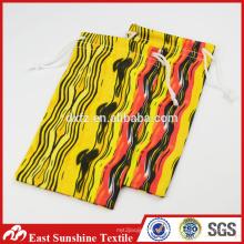 Пользовательские текстильной сумке ювелирные изделия текстильной сумке, Microfiber текстильной очки сумка / сотовый телефон мешочек