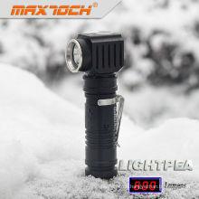 Maxtoch LIGHTPEA Edelstahl Clip 18650 Akku vertikalen LED-Taschenlampe