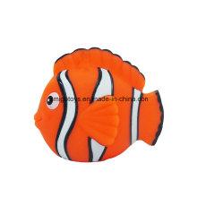 Personagem de desenho animado personagem peixe de mar brinquedo