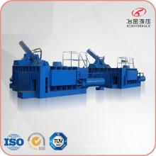 Presse hydraulique de machine de recyclage de mise en balles d'acier inoxydable
