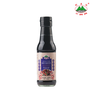 Salsa Di Soia Scura Meno Sale 150ml