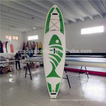Cartes gonflables de SUP de planche gonflable de planche de surf de nouvelle AQUA gonflable de mode