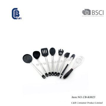 8 pcs conjunto de utensílios de silicone