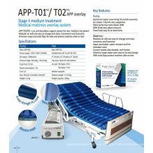 APP-T05 inflatable massage air mattress